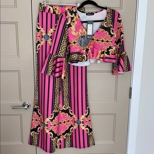 Wide legged pant and top set BRAND NEW W TAGS